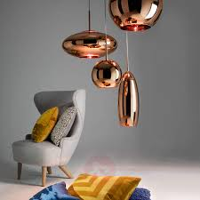 good tom dixon copper round cm with tom dixon leuchten 2x small mirror ball pendant