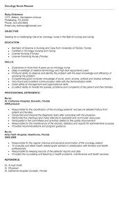 Pediatric Oncology Nurse Practitioner Sample Resume