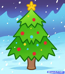 Learn How To Draw A Christmas Tree For Kids Christmas Stuff Christmas Tree Kids