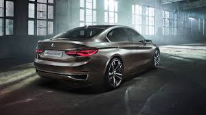 BMW 1 series may be previewed by Concept Compact Sedan
