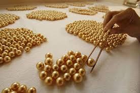 Как выращивают золотой жемчуг | Золотой жемчуг