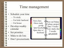 time management skills example co time management skills example