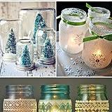 Mason Jar Holiday Decorations Mason Jar Holiday Decor POPSUGAR Home 68
