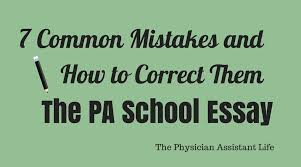 pre physician assistant the ultimate getting started guide the  do you recognize these 7 common mistakes in your personal statement