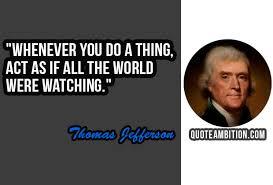 Thomas Jefferson Quote Beauteous Top 48 Famous Thomas Jefferson Quotes