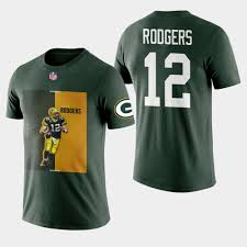 Packers Color - Green Rodgers Block Graphic Aaron Player Bay T-shirt