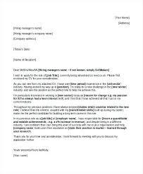 Cover Letter Career Change Mid Career Change Cover Letter Career