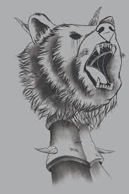 Artstation Bear Tattoo Lyriah Walker