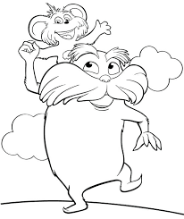 The Lorax Coloring Pages Coloring Page The Movie Animal Characters