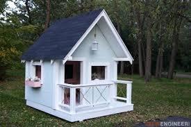 diy playhouse plans outdoor