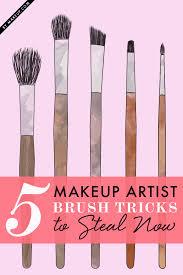 makeup brush tricks