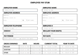 Payroll Stubs Templates Enchanting Free Pay Stub Template Tips What To Include