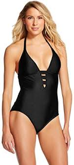Mossimo Swimwear Size Chart Masked Brand Mossimo Womens Strappy One Piece Swimsuit X