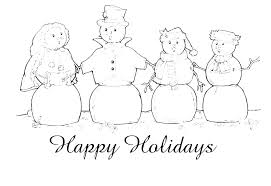 Holiday Coloring Pictures To Print Holiday Coloring Pages Color Page