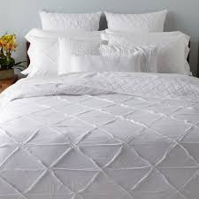 bedroom contemporary bedroom with dkny pure white bedding sets