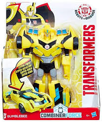 Bumblebee gots lots of toys! Amazon Com Transformers Robots In Disguise 3 Step Changers Bumblebee Figure Discontinued By Manufacturer Toys Games