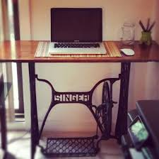 singer sewing machine desk making this today