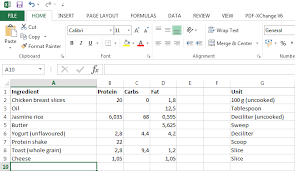 diet excel sheet how to track your diet with excel antti lehikoinen
