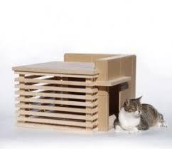 modern pet furniture. frank lloyd wright prefab cat house modern pet furniture x