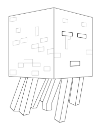 Minecraft Villager Coloring Page Free Printable Coloring Pages