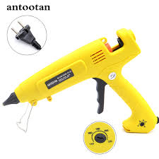 <b>110V</b>-220V <b>300W</b> EU Plug Hot Melt Glue Gun Smart <b>Temperature</b> ...