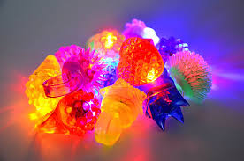 Joyin Lights Joyin Toy 60 Pieces Led Light Up Toy Party Favor Party Pack For Mardi Gras Party Classroom Price 44 Led Finger Lights 12 Led Flashing Bumpy Rings