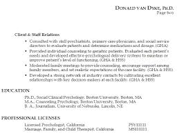 Download Psychologist Resume Ajrhinestonejewelry Com