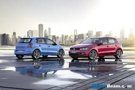 new car launches may 2014Volkswagen Unveils Polo MidLife Facelift India Launch In May 2014