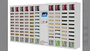 Customized Vending Machines Fascinating Custom Electronic Lockers Custom Vending Machine Design And