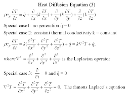 3 heat diffusion equation 3