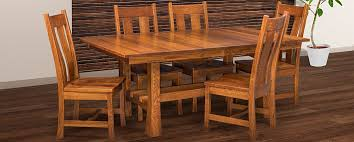 table tico amish dining chairs jackson series