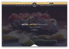 restaurant table layout templates 24 best html restaurant website templates 2019 colorlib