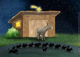Alle Tiere Nah Und Fern Wollen Gern Zum Weihnachtsstern