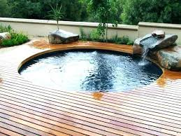 Round Pool Decks Plans Above Ground Decking Designs Gray Deck Ideas Way To Diy Cost Build  Free