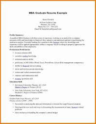 How To List Mba On Resume Free Resumes Tips
