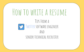 To Prepare Resume How To Write A Great Resume For Software Engineers Freecodecamp Org