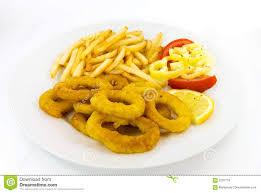 Resultado de imagen de calamares con patatas fritas y huevos fritos