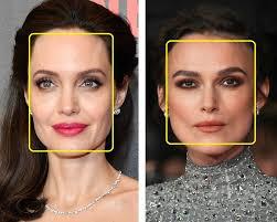 Stylu Naproti Základní Tvary Obličeje Obdélníkový A čtvercový