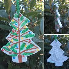 Salzteig Christbaumschmuck Von Hand Bemalt Mit Zweigen Und Kugeln Weihnachten Geburtstag Besondere Anlass Home Dekor Einzigartige Handgemachte