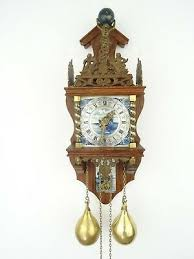 zaanse delft repair dutch wall clock