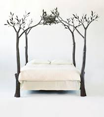 Tree Bed - Eclectic - Beds - by Shawn Lovell Metalworks