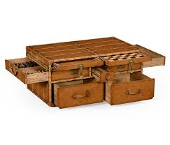 lovable trunk style coffee table with chest coffee table elegant vintage trunk coffee table steamer
