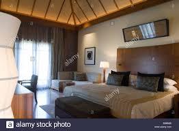 Spa Bedroom Inside The Villa Bedroom Hotel Shanti Ananda Resort And Spa Stock