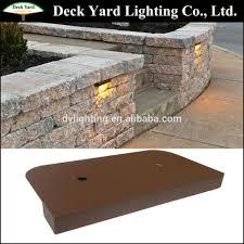 Under Cap Lighting Under Cap Retaining Wall Landscape Light Kits Brick Stone