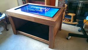 gaming coffee table s diy arcade machine coffee table