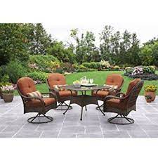 patio dining set 5 piece outdoor