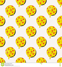 repeating pizza background. Beautiful Background Hand Drawn Tasty Pizza Circles Vector Seamless Pattern Modern Stylish  Repeating Fast Food Service Elements Background Isolated Illustration On  And Repeating Pizza Background T