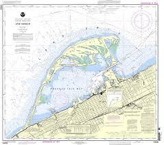 Noaa Chart 14835 Erie Harbor