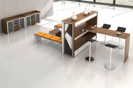 stylish office tables. Furniture:Modern High End Office Furniture With Wooden Storage Bench And Stylish Folding Table Idea Tables T
