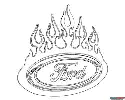 ford truck coloring pages 13